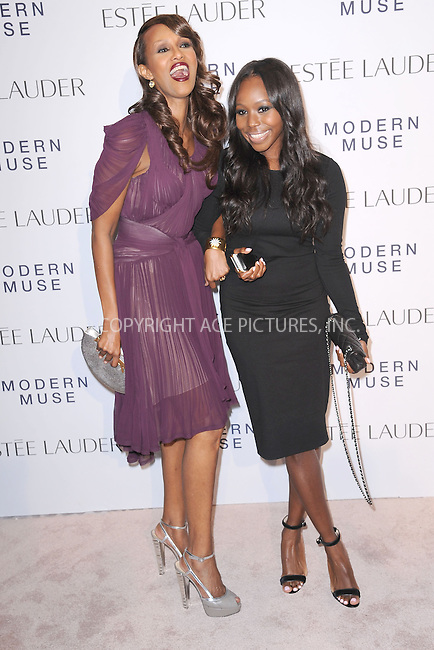 WWW.ACEPIXS.COM<br /> September 12, 2013...New York City<br /> <br /> Iman and Kahlana Barfield attending the Estee Lauder 'Modern Muse' Fragrance Launch Party at the Guggenheim Museum on September 12, 2013 in New York City.<br /> <br /> Please byline: Kristin Callahan/Ace Pictures<br /> <br /> Ace Pictures, Inc: ..tel: (212) 243 8787 or (646) 769 0430..e-mail: info@acepixs.com..web: http://www.acepixs.com
