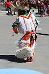 Native Aboriginal Dancers at Calgary Olympic Sguare in downtown  Calgary, Alberta, Canada.