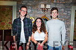 Triple celebrations of Gavin, Megan and Liam Kennedy from Manor Tralee, celebrating their 21st birthday in Cassidys on Saturday night.