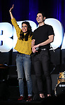 "Arielle Jacobs and Jason Gotay from ""Between the Lines""  during the BroadwayCON 2020 First Look at the New York Hilton Midtown Hotel on January 24, 2020 in New York City."