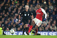 Danny Welbeck of Arsenal in action during Chelsea vs Arsenal, Caraboa Cup Football at Stamford Bridge on 10th January 2018