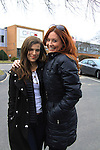 Kelley Missal & Melissa Archer - Welcome Back Rally to mark the returns of former ABC soap opera One Life To Live and All My Children. Due to overwhelming fan demand, both long-running dramas are being re-launched by producer Prospect Online Network (TOLN). The rally is in front of the Connecticut Film Center in Stamford, CT where the shows are now being produced on March 18, 2013 to coincide with OLTL's first tape date. (Photo by Sue Coflin/Max Photos)