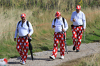 Supporters on the 4th during Round 4 of Made in Denmark at Himmerland Golf &amp; Spa Resort, Farso, Denmark. 27/08/2017<br /> Picture: Golffile | Thos Caffrey<br /> <br /> All photo usage must carry mandatory copyright credit     (&copy; Golffile | Thos Caffrey)