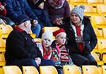 Sheffield Utd fans during the Premier League match at Molineux, Wolverhampton. Picture date: 1st December 2019. Picture credit should read: Simon Bellis/Sportimage