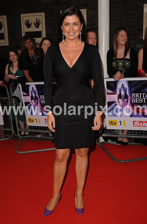 **ALL ROUND PICTURES FROM SOLARPIX.COM** **WORLDWIDE SYNDICATION RIGHTS** .Red carpet arrivals at Britain's Best 2008. Held at the London Studios, Upper Ground, London. 18 May 2008. ..This pic: Amanda Lamb..JOB REF: 6438 SSD DATE: 18_05_2008 **MUST CREDIT SOLARPIX.COM OR DOUBLE FEE WILL BE CHARGED* *UNDER NO CIRCUMSTANCES IS THIS IMAGE TO BE REPRODUCED FOR ANY ONLINE EDITION WITHOUT PRIOR PERMISSION*