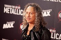 Kirk Hammett of Metallica attends the premiere of 'Metallica: Through The Never' at Callao cinema on October 9, 2013 in Madrid, Spain. (ALTERPHOTOS/Victor Blanco)