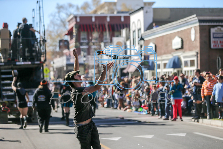 The Controlled Burn float moves down Carson Street during the 79th Nevada Day parade in Carson City, Nev., on Saturday, Oct. 28, 2017. <br /> Photo by Cathleen Allison/Nevada Momentum