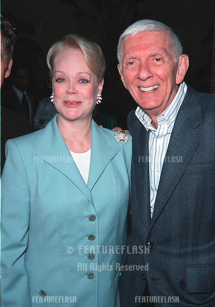 """19JUL99: Producer AARON SPELLING & wife CANDY at premiere of daughter Tori's new movie """"Trick"""" at the Egyptain Theatre, Hollywood..© Paul Smith / Featureflash"""