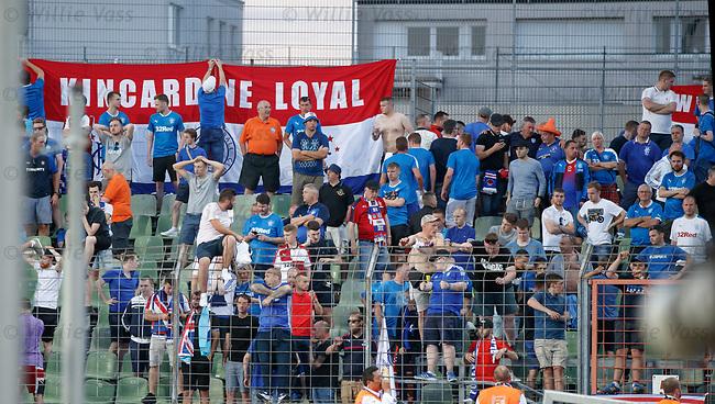 Heartbreak for Rangers fans at full time
