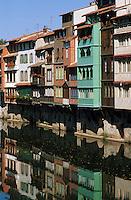 Europe/France/Midi-Pyrénées/81/Tarn/Castres: Vieilles maisons de tanneurs sur l'Agout