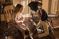 Annabelle: Creation (2017)<br /> Stephanie Sigman &amp; Talitha Bateman<br /> *Filmstill - Editorial Use Only*<br /> CAP/KFS<br /> Image supplied by Capital Pictures