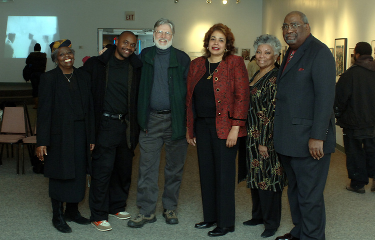 at the Martin Luther King Jr. Day celebration at the African-American Museum of Nassau County in Hempstead on Monday January 16, 2006. (Photo Copyright Jim Peppler 2005).