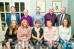 Lynch's Restaurant Christmas Party: Staff of Mary Lynch's Freezer's Reataurant, Listowel enjoying their Christmas party at The Listowel Arms Hotel on Saturday night last. Front : Michelle & Brenda Kennelly, Mary Walsh, Mary Cummins & Graine martin. Back : Liam Walsh, John Sheahan, Alan VCunningham, John Cummins & Mike Kennelly.