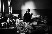 Puri 04.02.2009 India ( Orissa).Karunalaya, leprosy care center, made by fr. Marian Zelazek SVD. A hospital, portrait of a patient..Photo Maciej Jeziorek/Napo Images.