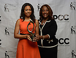 At the Step-and-Repeat: PCC Golden Trumpet Awards 2014