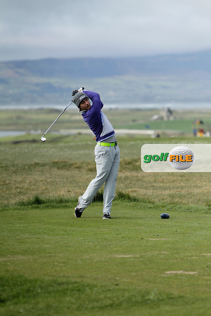 Jonathan Breen (Knock) during round 1 of The West of Ireland Amateur Open in Co. Sligo Golf Club on Friday 18th April 2014.<br /> Picture:  Thos Caffrey / www.golffile.ie