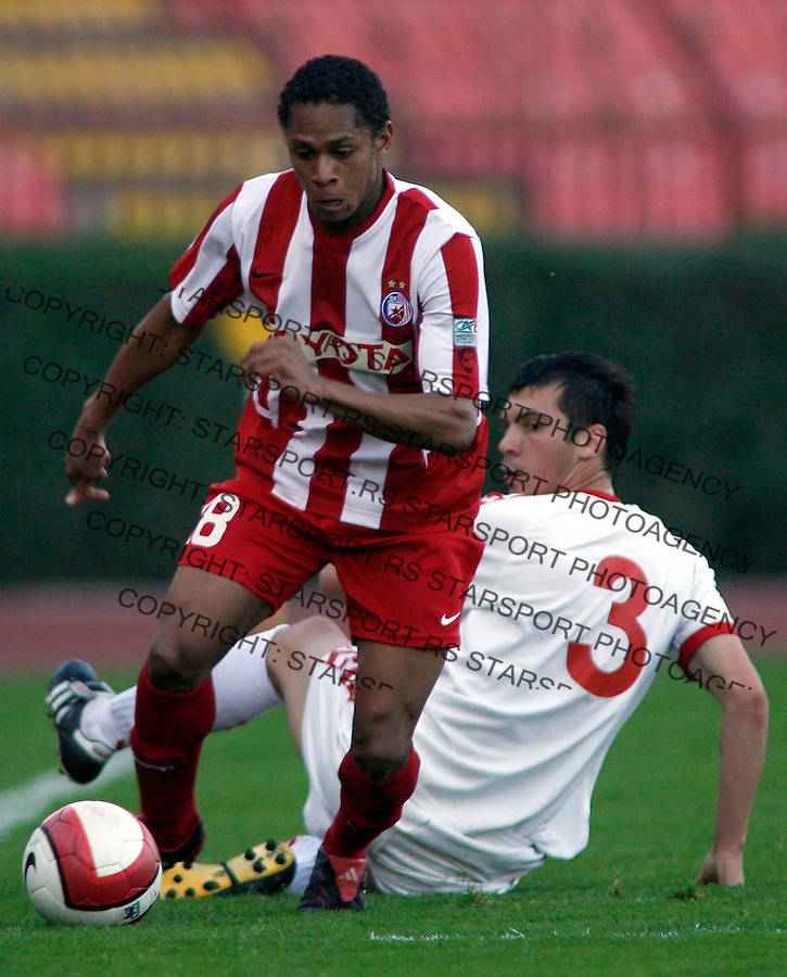 Fudbal, KUP SRBIJE, season 2006/07&amp;#xA;Crvena Zvezda-Sevojno&amp;#xA;Eli Tadeu, Brazil's midfielder&amp;#xA;Beograd, 25.10.2006.&amp;#xA;foto: SRDJAN STEVANOVIC<br />