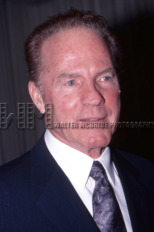 Frank Gifford attends the American Cancer Society event on 5/1/2000 at the Pierre Hotel in New York City.