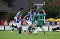 VOETBAL: DE KNIPE: 16-07-2013, Oefenwedstrijd SC Heerenveen - Leuven, Einduitslag 2-1, Hakim Ziyech, ©foto Martin de Jong