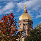October 11, 2016; Main Building (Photo by Matt Cashore/University of Notre Dame)