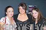 BELLS: Louise Harrington, Karen O'Mahony and Catriona O'Shea, Kenmare, ringing in the New Year in Scotts Bar, Killarney.   Copyright Kerry's Eye 2008