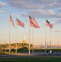 Statue of Liberty, Liberty State Park, New Jersey