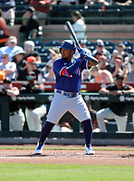 Willie Calhoun - Texas Rangers 2020 spring training (Bill Mitchell)