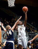 California Women's Basketball vs Vanguard, November 1, 2012
