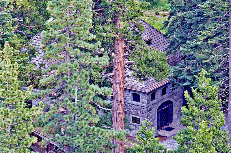Stone building at Emerald Bay. California