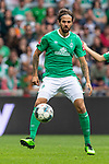 01.09.2019, wohninvest WESERSTADION, Bremen, GER, 1.FBL, Werder Bremen vs FC Augsburg<br /> <br /> DFL REGULATIONS PROHIBIT ANY USE OF PHOTOGRAPHS AS IMAGE SEQUENCES AND/OR QUASI-VIDEO.<br /> <br /> im Bild / picture shows<br /> Martin Harnik (Werder Bremen #09), <br /> <br /> Foto © nordphoto / Ewert
