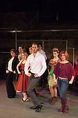 "LONDON, ENGLAND - Musical/Play ""Company"" at Southwark Playhouse directed by Joe Fredericks, Music by Stephen Sondheim, Book by George Furth, Rupert Young as Bobby (white shirt)"