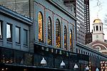 Morning reflections at Quincy Market, Boston, MA, USA