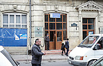 Baku - Azerbaijan - 17 December 2014 -- Azerbaijan State Marine Academy. --  Main entrance of the academy. -- PHOTO: Sitara Ibrahimova / EUP-IMAGES