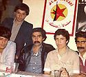Syria 1980 .2nd right, Hatige Yachar in Damascus, before going to Iraqi Kurdistan.Syrie 1980.2eme a droite, Hatige Yachar a Damas avant de partir pour le Kurdistan irakien