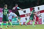28.07.2017, Sportplatz, Schneverdingen, GER, FSP SV Werder Bremen (GER) vs WestHam United (ENG), <br /> <br /> im Bild<br /> Marco Arnautovic (WestHam)<br /> Philipp Bargfrede (Werder Bremen #44)<br /> Johannes Eggestein (Werder Bremen #24)<br /> <br /> Foto &copy; nordphoto / Kokenge