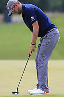 Bernd Wiesberger (AUT) birdie putt on the 8th green during Saturday's Round 3 of the 117th U.S. Open Championship 2017 held at Erin Hills, Erin, Wisconsin, USA. 17th June 2017.<br /> Picture: Eoin Clarke | Golffile<br /> <br /> <br /> All photos usage must carry mandatory copyright credit (&copy; Golffile | Eoin Clarke)
