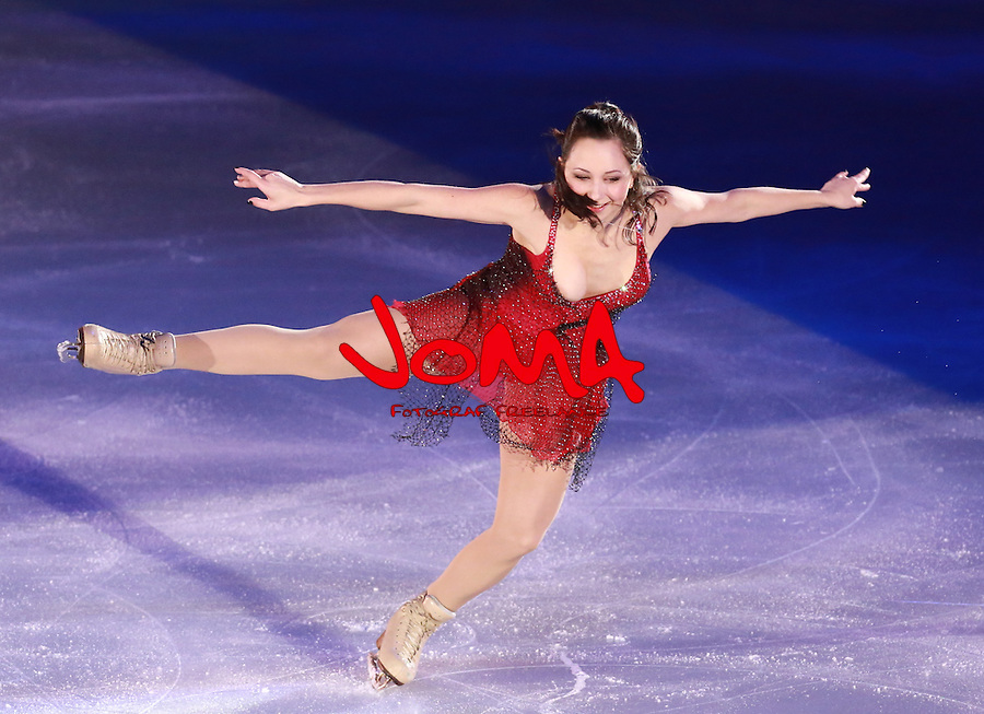 14.12.2014 Barcelona. Spain. ISU Grand Prix of Figure Skating Final 2014. Picture show ELizaveta Tuktamysheva (RUS) in action during Gala Exhibition