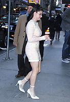 NEW YORK, NY - November 29: Ariel Winter seen at GMA Day in New York City on November 29, 2018.     <br /> CAP/MPI/RW<br /> &copy;RW/MPI/Capital Pictures