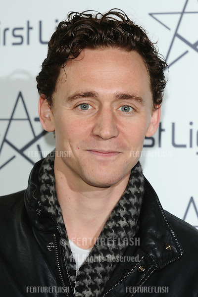 Tom Hiddleston arrives for the First Light Movie Awards 2011 at the Odeon Leicester Square, London. 15/03/2011  Picture By: Steve Vas / Featureflash