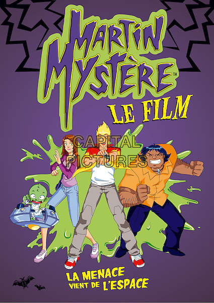 POSTER ART.in Martin Mystery (Martin mystere).*Filmstill - Editorial Use Only*.CAP/PLF.Supplied by Capital Pictures.