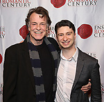 """John Noble and Matthew Cohen attends the Opening Night Celebration for Ensemble for the Romantic Century Off-Broadway Premiere of<br />""""Maestro"""" at the West Bank Cafe on January 15, 2019 in New York City."""