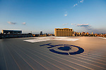 Philadelphia, Pennsylvania - The helipad on the roof of The Childrens Hospital of Philadelphia.