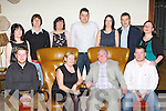 Gearoid and Margaret O'Sullivan, Killorglin, who celebrated their 40th wedding anniversary in the Hotel Europe, Fossa on Saturday night front row l-r:David, Gearoid, Margaret and Carl O'Sullivan. Back row: Sarah Cahill, Gerard O'Sullivan, Helen and Niall Murphy, Evelyn and Derek Twiss and Leonora O'Sullivan..