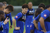 Ji-Sung Park of QPR in training