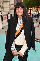 Claudia Winkleman at the V&amp;A Summer Party at the Victoria and Albert Museum, London.<br /> June 22, 2016  London, UK<br /> Picture: Steve Vas / Featureflash