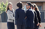 "Princess Letizia of Spain during the visit to the Public School ""Maria Moliner"" to celebrate the beginning of the educational project 'Rare diseases go to school with Federito'.April 30,2014. (ALTERPHOTOS/Acero)"