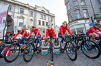 Picture by Allan McKenzie/SWpix.com - 17/05/2018 - Cycling - OVO Energy Tour Series Womens Race - Round 2:Aberdeen - Team Breeze warm up.