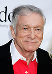"Hugh Hefner arrives at the Much Love Animal Rescue Presents The Second Annual ""Bow Wow WOW!"" at The Playboy Mansion on July 19, 2008 in Beverly Hills, California."