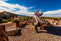 Visitors Center, Dinosaur National Monument, Utah USA.