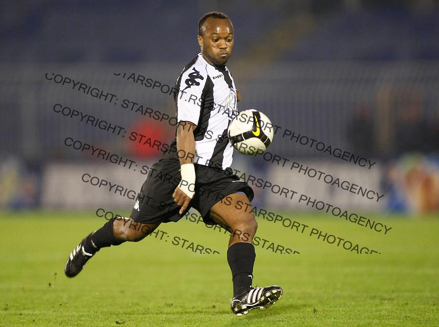 Fudbal, Super liga, season 2008/09.Partizan Vs. Vojvodina (Novi Sad).Almami Da Silva Moreira.Beograd, 09.27.2008..foto: Srdjan Stevanovic ©